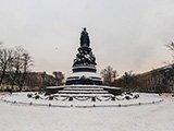 Памятник Екатерине ll